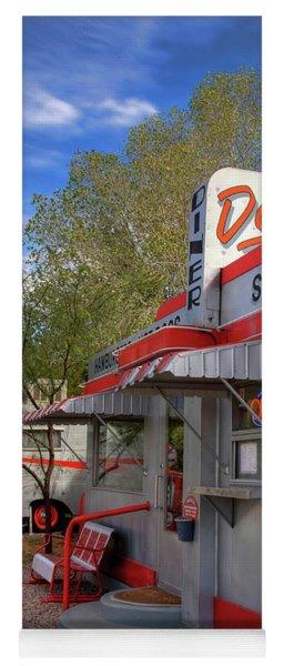 Dot's Diner In Bisbee Yoga Mat