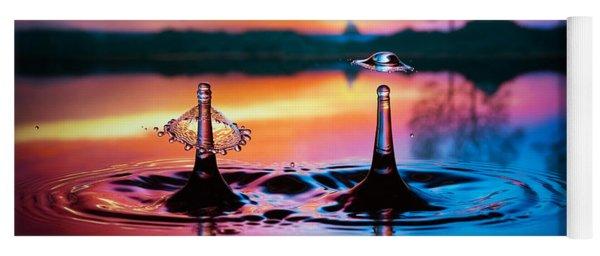Double Liquid Art Yoga Mat
