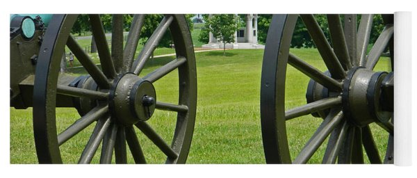 Double Wheel View - Antietam National Battlefield Yoga Mat