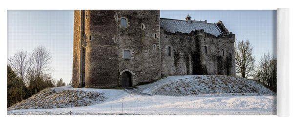 Doune Castle In Central Scotland Yoga Mat