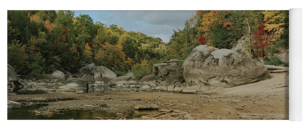 Downstream From Cumberland Falls Yoga Mat