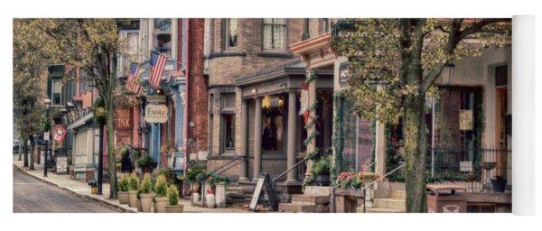 Downtown Jim Thorpe, Pa. Yoga Mat