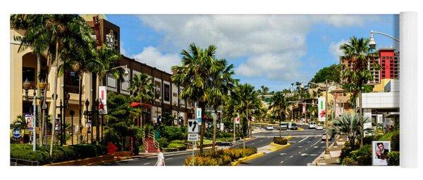 Downtown Tamuning Guam Yoga Mat