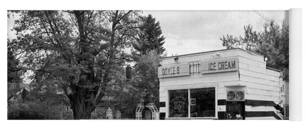 Doyles Ice Cream Parlor - Spokane Yoga Mat