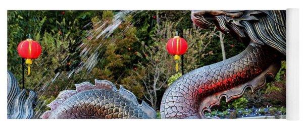 Dragon Fountain Yoga Mat