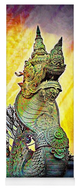 Dragon Of The East Yoga Mat