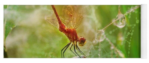 Dragonfly Dance Yoga Mat