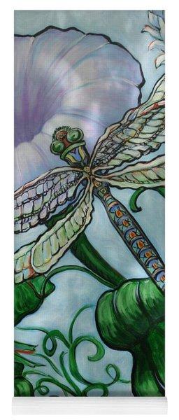 Dragonfly In Sun Yoga Mat