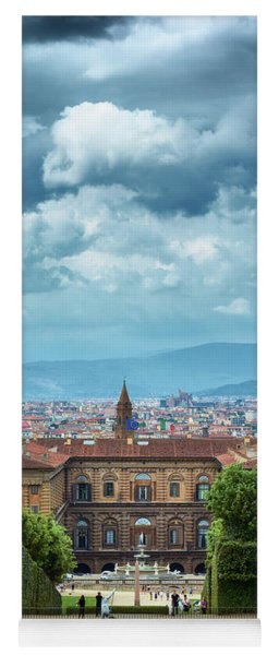 Drama In The Palace Of Firenze Yoga Mat