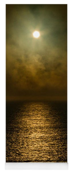 Drama Of The Setting Sun Yoga Mat