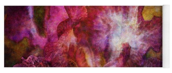 Dramatic White And Purple 0273 Idp_2 Yoga Mat