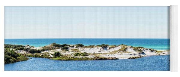 Draper Lake Dune Panorama Yoga Mat