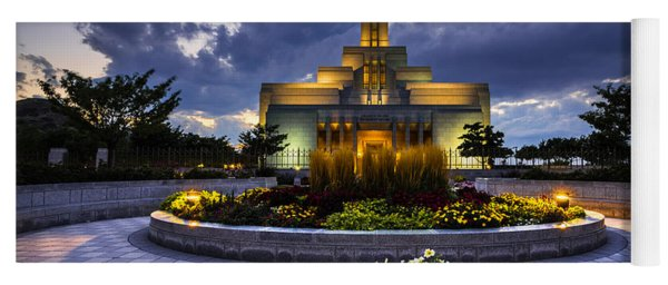 Draper Mormon Lds Temple - Utah Yoga Mat