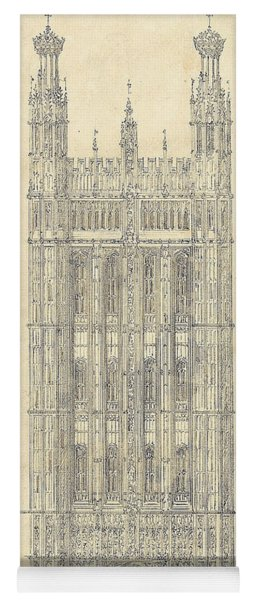 Drawing For The Houses Of Parliament Yoga Mat