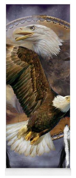 Dream Catcher - Spirit Eagle Yoga Mat