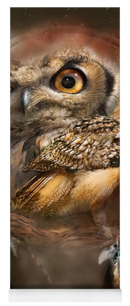 Dream Catcher - Spirit Of The Owl Yoga Mat