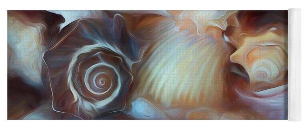 Dream Of Seashells Yoga Mat
