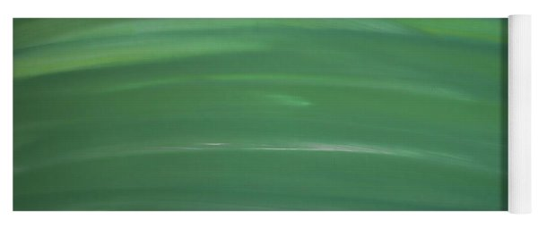 Floating In Green Yoga Mat