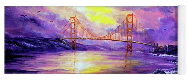 Dreaming Of San Francisco Yoga Mat