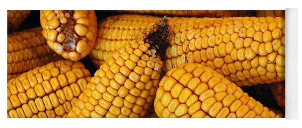 Dried Corn Cobs Yoga Mat