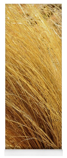Dried Grass Yoga Mat