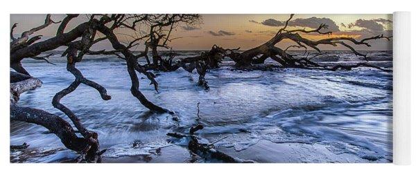 Driftwood Beach 3 Yoga Mat