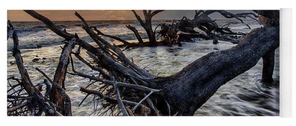 Driftwood Beach 4 Yoga Mat