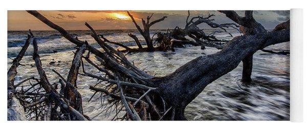 Driftwood Beach 5 Yoga Mat