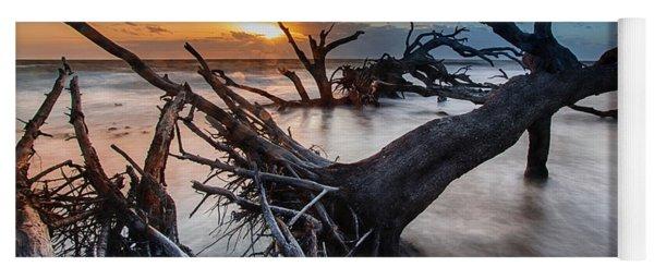 Driftwood Beach 6 Yoga Mat