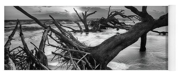 Driftwood Beach 8 Yoga Mat