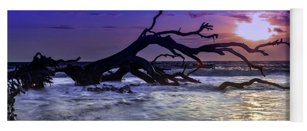 Driftwood Beach 9 Yoga Mat