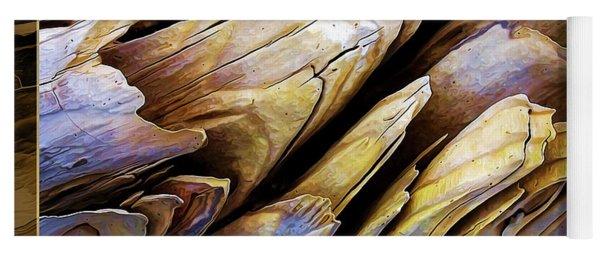 Driftwood Edges Yoga Mat