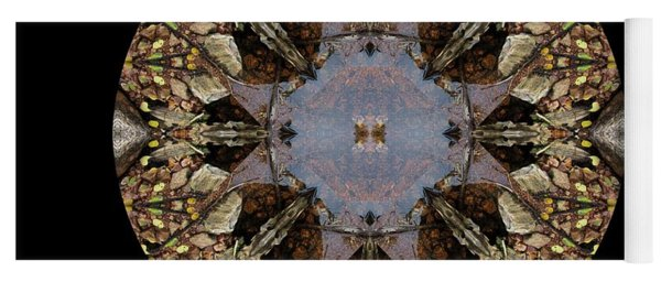 Driftwood Fairies Around A Pond Kaliedoscope Yoga Mat
