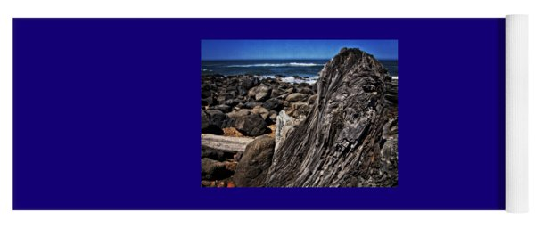 Driftwood Rocks Water Yoga Mat