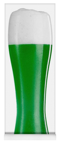 Yoga Mat featuring the digital art Drink Me I'm Irish by ISAW Company