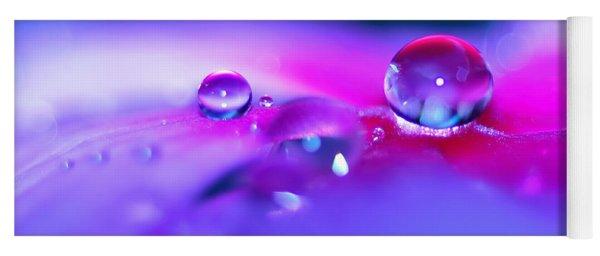 Droplets In Fantasyland Yoga Mat