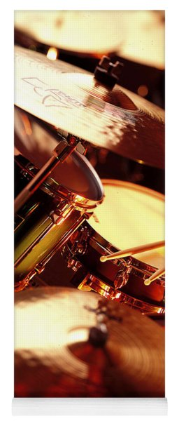 Drums Yoga Mat