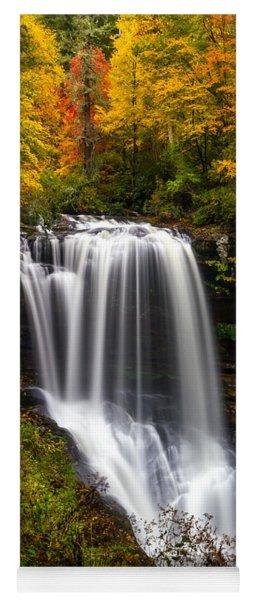Dry Falls In October  Yoga Mat