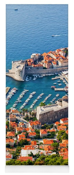 Dubrovnik From Above Yoga Mat