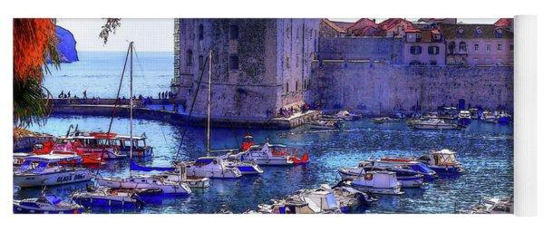 Dubrovnik Harbour Yoga Mat