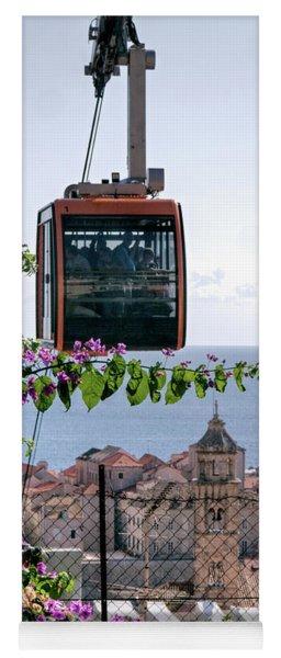Dubrovniks Cable Car Yoga Mat