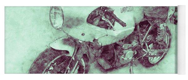 Ducati Paulsmart 1000 Le 3 - 2006 - Motorcycle Poster - Automotive Art Yoga Mat