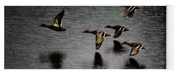 Duck Squadron Yoga Mat