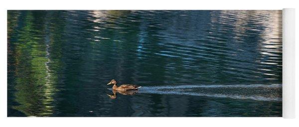 Duck Waves Yoga Mat