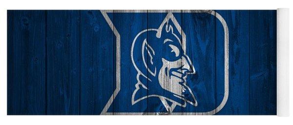 Duke Blue Devils Barn Door Yoga Mat
