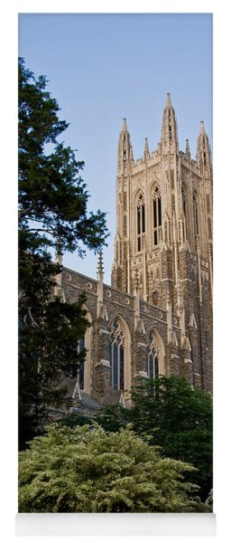 Duke Chapel Side View Yoga Mat