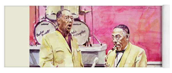 Duke Ellington And Johnny Hodges Yoga Mat