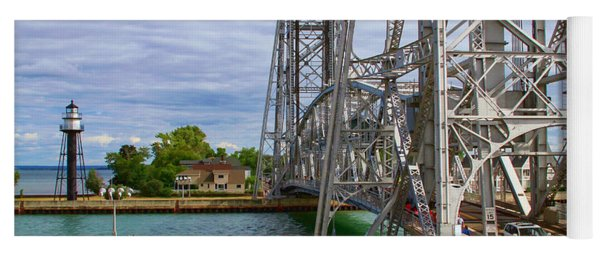 Duluth Aerial Lift Bridge Yoga Mat