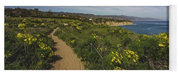 Dume Cove Spring Wildflowers Yoga Mat