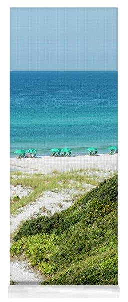 Dune Trail To The Gulf Yoga Mat